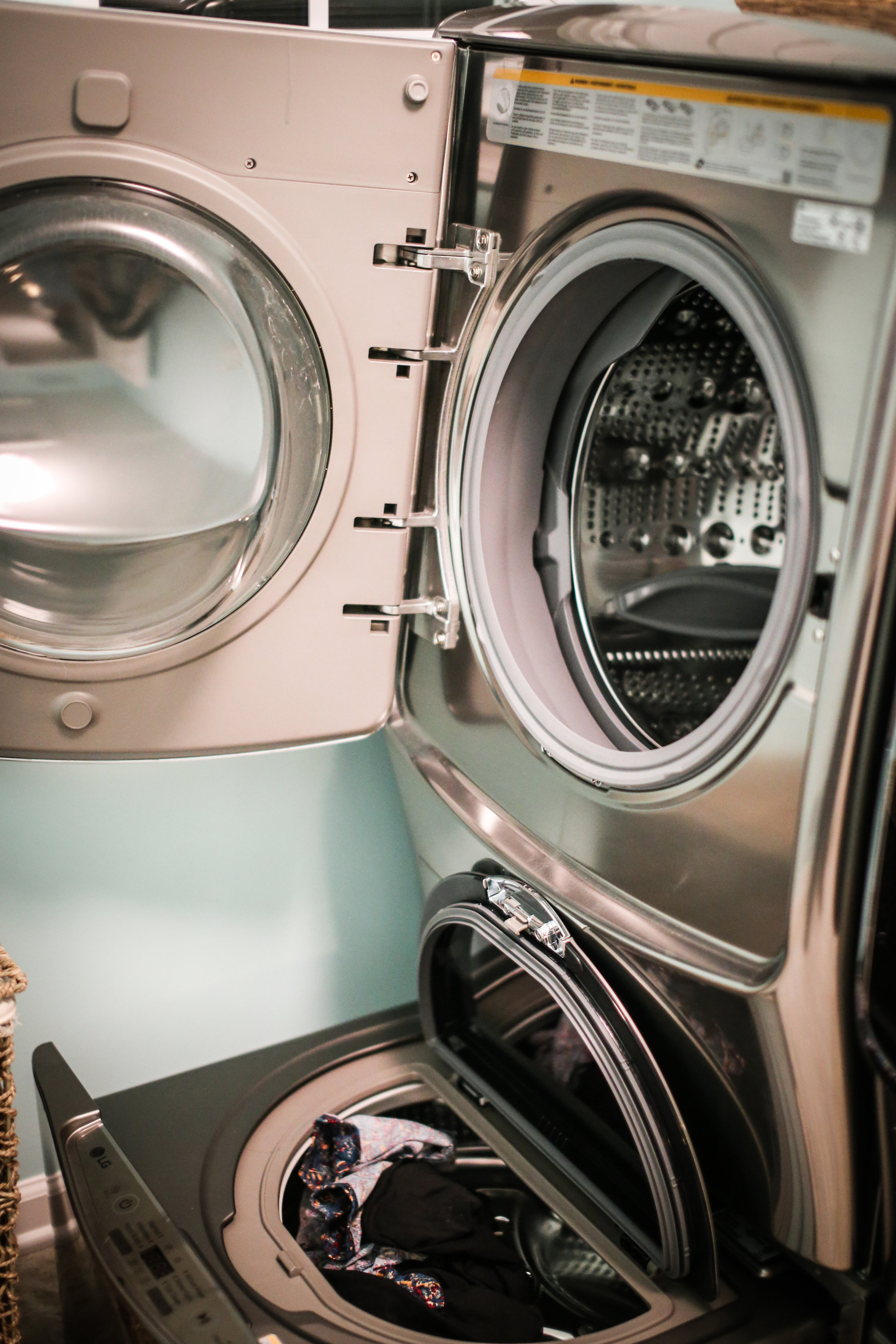 Are you looking for a new washer and dryer or just want to know a good choice for when it is time? I found the perfect washer and dryer for my family and I'm sharing all about it today!