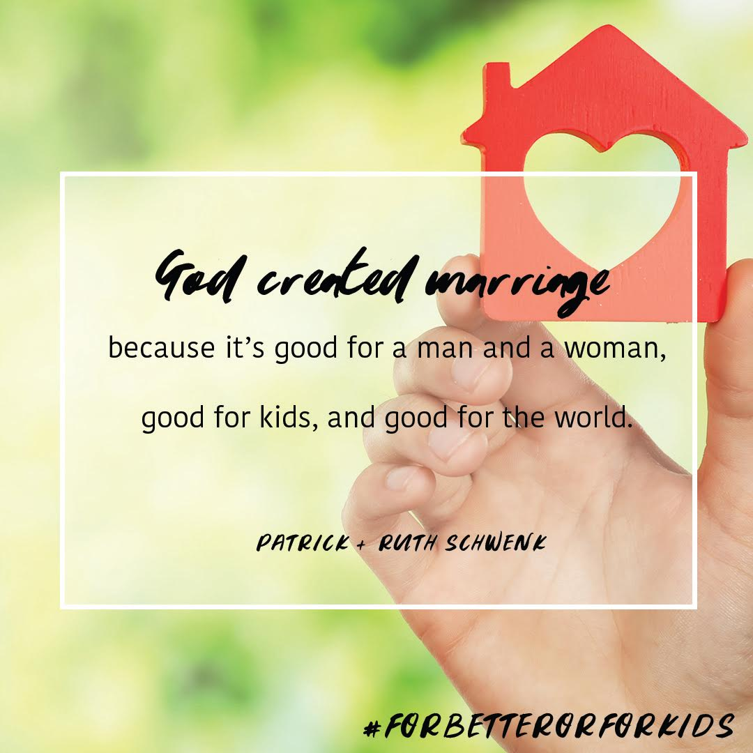 God Created Marriage Quote