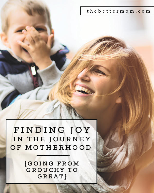 As moms, we can all struggle to keep it together sometimes. In a moment, anger or frustration can spill out. From Grouchy to Great is a devotional filled with real life stories that will help you:   Be encouraged that the battle can be won by God's grace and wisdom, Discover practical ways to overcome anger,  Strengthen your resolve as you face day-to-day struggles,  Walk in the freedom that God offers,  And more!  The good news, my friend, is that we don't have to face this battle alone. Joy can be yours in the journey of motherhood!
