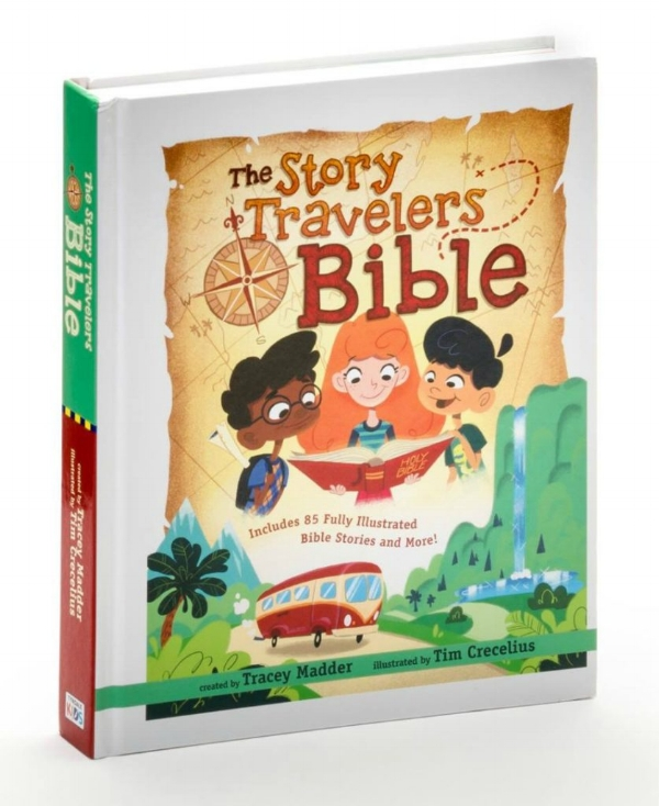 Are you looking for ways to bring God's word to life for your children? The Story Traveler's Bible might be just what you need to begin a adventure through the Holy Land and experience Scripture together.