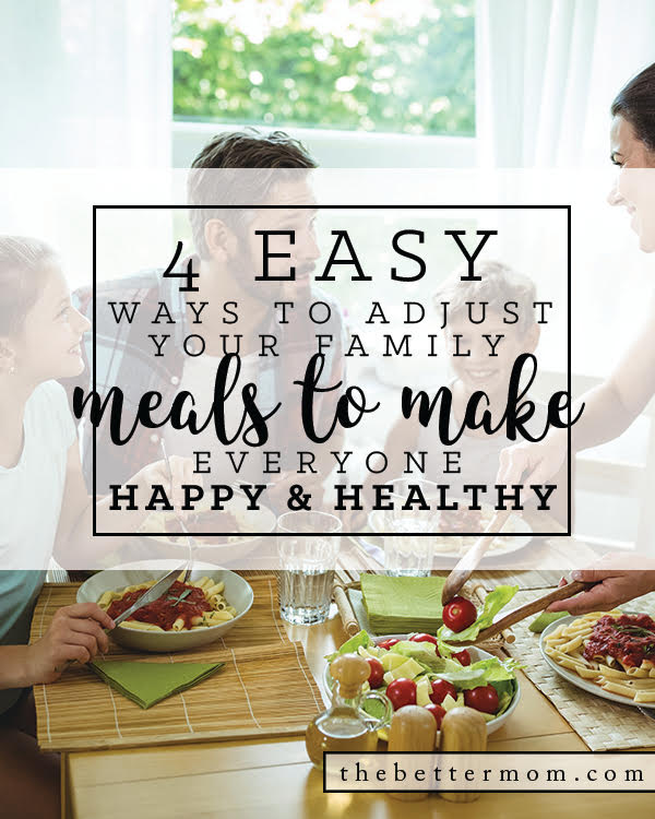 Does putting a healthy meal on the table ever stress you out? These tips to create family meals that keep you moving toward your health goals are just for you! Eat up!