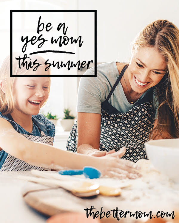 What do you dream of for this summer with your kids? Make it the year when you are all in, fully present and creative with your time and love big with your whole heart. Make this the summer of YES.