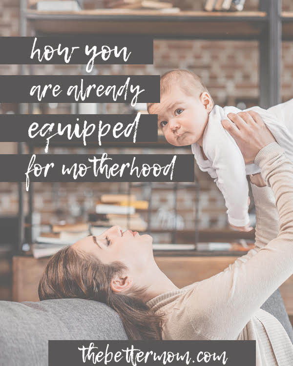 Think you don't have what it takes to be a mom? Or are you overwhelmed at the work before you as you care for little souls today? Mamas, God has given you all you need. Come discover Him and his gifts for you today.