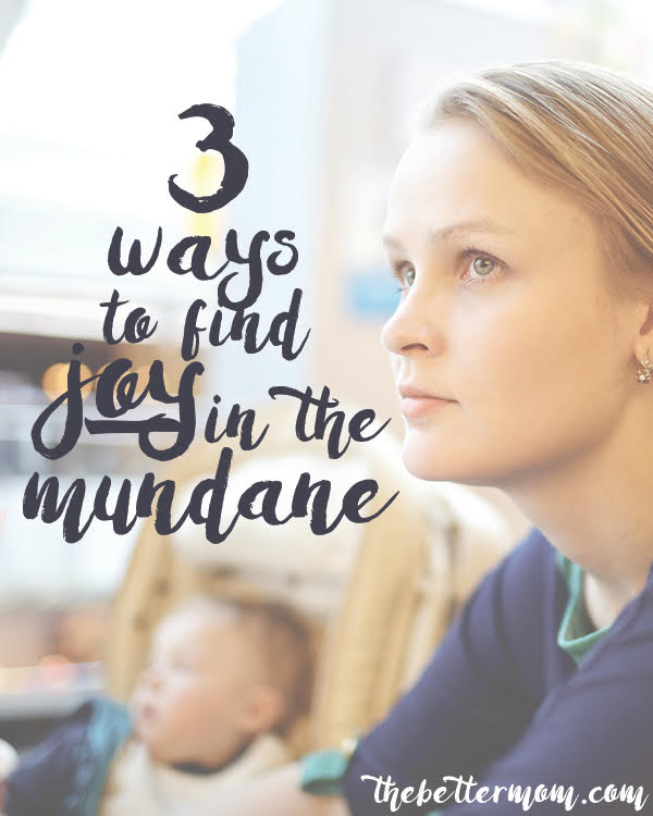 Sometimes the days just feel long... and dare we say it? Boring. How can you revive your passion, your vision and find meaning in the days that feel so mundane? We've got inspiration to revive you today!