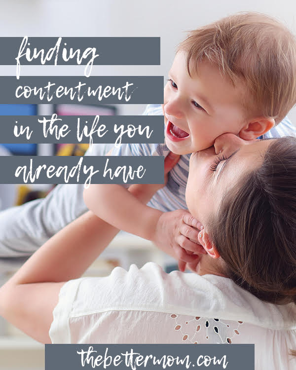 Do you resent your circumstances? Do you long to shake off parts of your life for something better... something more? What lies beneath those desires? Learning to have contentment this year might mean learning that you've really wanted something you didn't realize all along.
