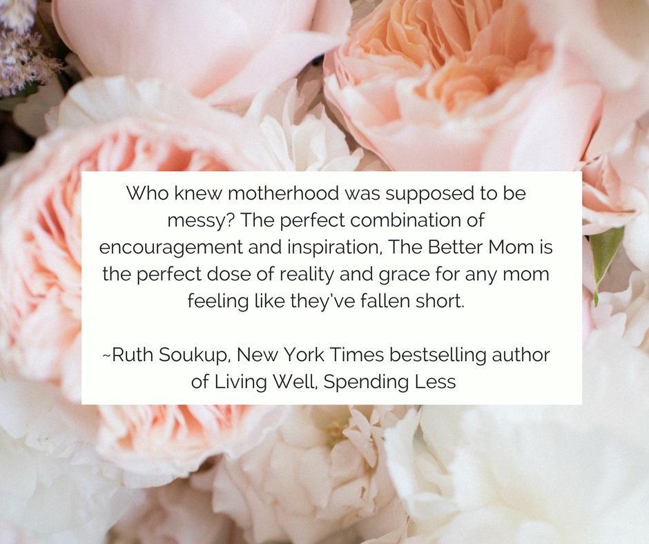 The current social media climate of Pinterest perfection can leave a mom feeling less-than when she compares her life to those of other moms. But what if we learn to actually embrace the less-than-perfect parts of ou (4).png