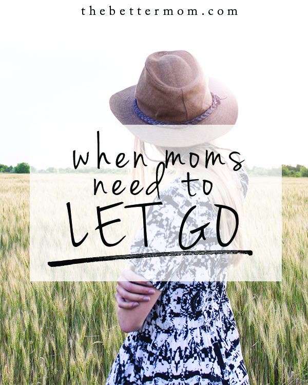 It's not natural for moms to let go, and yet, it's the goal we are all working toward. When it's time to let your children leave home, will you be ready? Thankfully, there is one truth that anchors us all in big transitions.