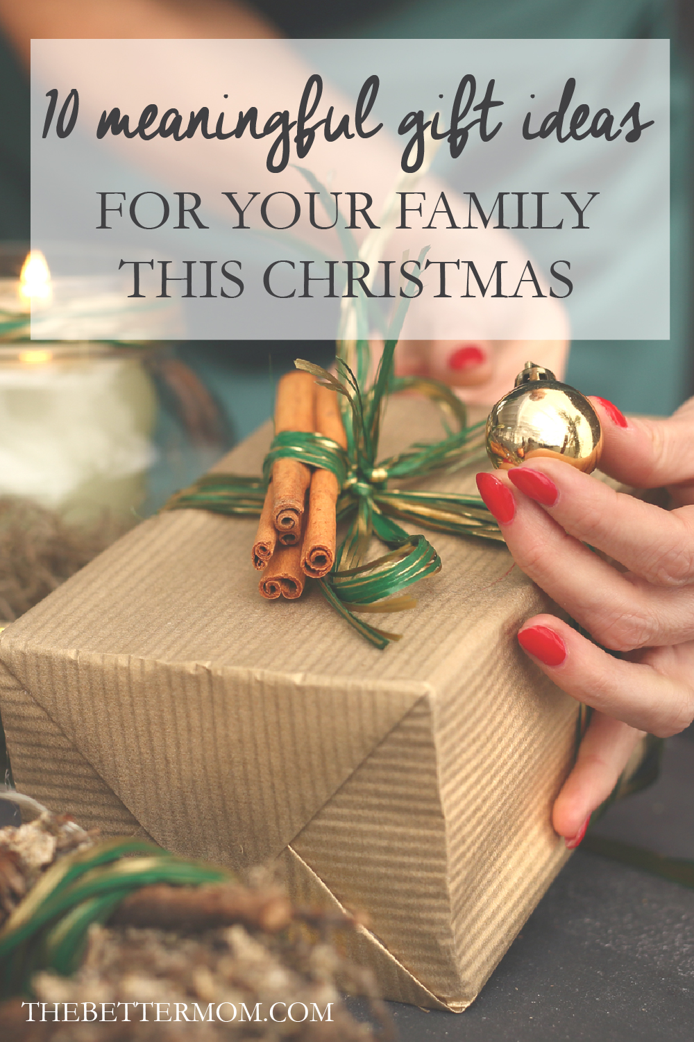 Christmas time is right around the corner. Can you believe it?! With all the hustle and bustle this season brings, I am always on the hunt for meaningful gifts to give my children and family. Here are some of my favorites!