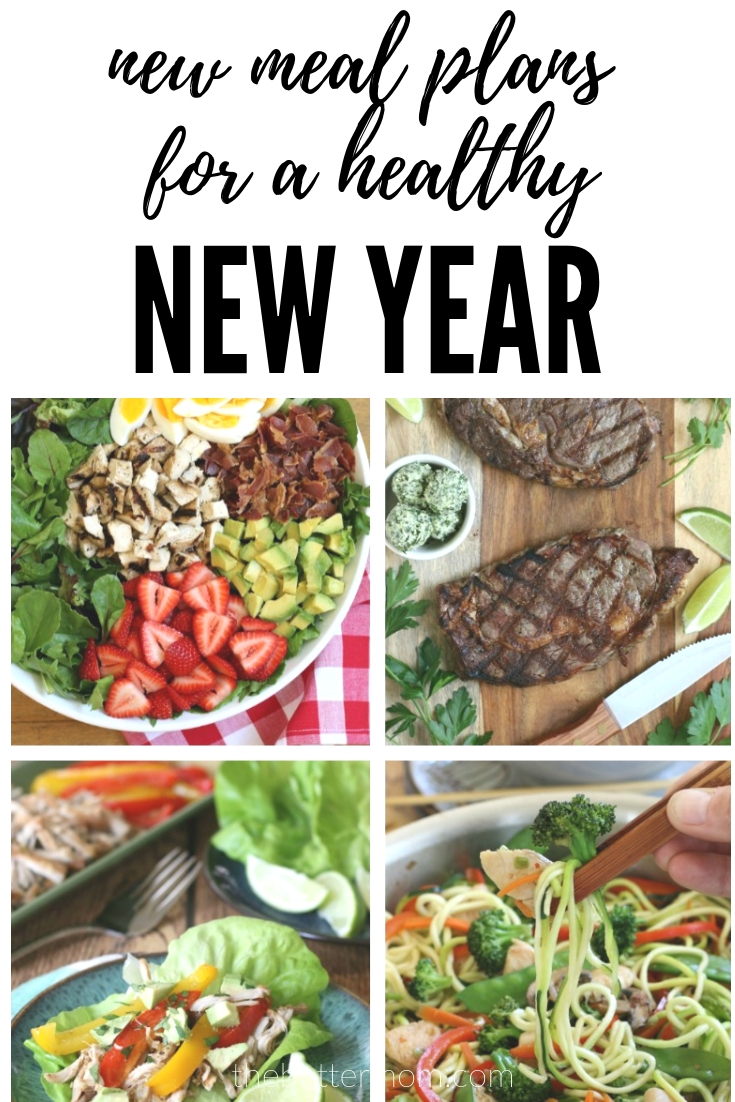 """Guess what?! We are thrilled to introduce our new and improved meal plans for 2019!! They are easy peasy recipes designed to maximize your meals and minimize the time it takes to prepare them with our new """"Cook once, eat twice or more"""" meals! Did I mention they are delicious and FREE?! Come, find out all the details here!"""