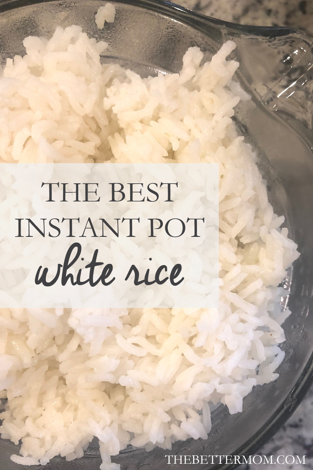 If you have an Instant Pot, I have the perfect quick, easy and delicious rice recipe I'm sharing today!!