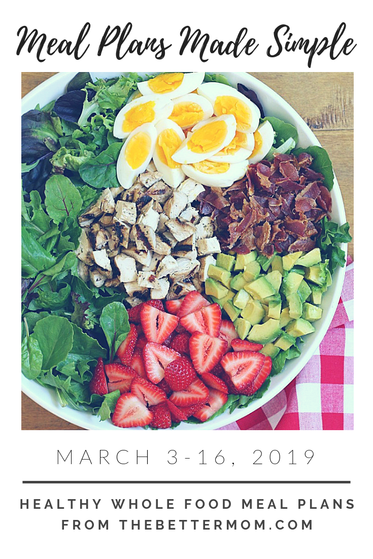 Have you seen our healthy, whole-food, gluten free meal plans?! They are perfect for busy families packed with fabulous meals and the best part is...they are FREE!  If you are looking for a simple way to prepare and plan delicious meals this is for you!