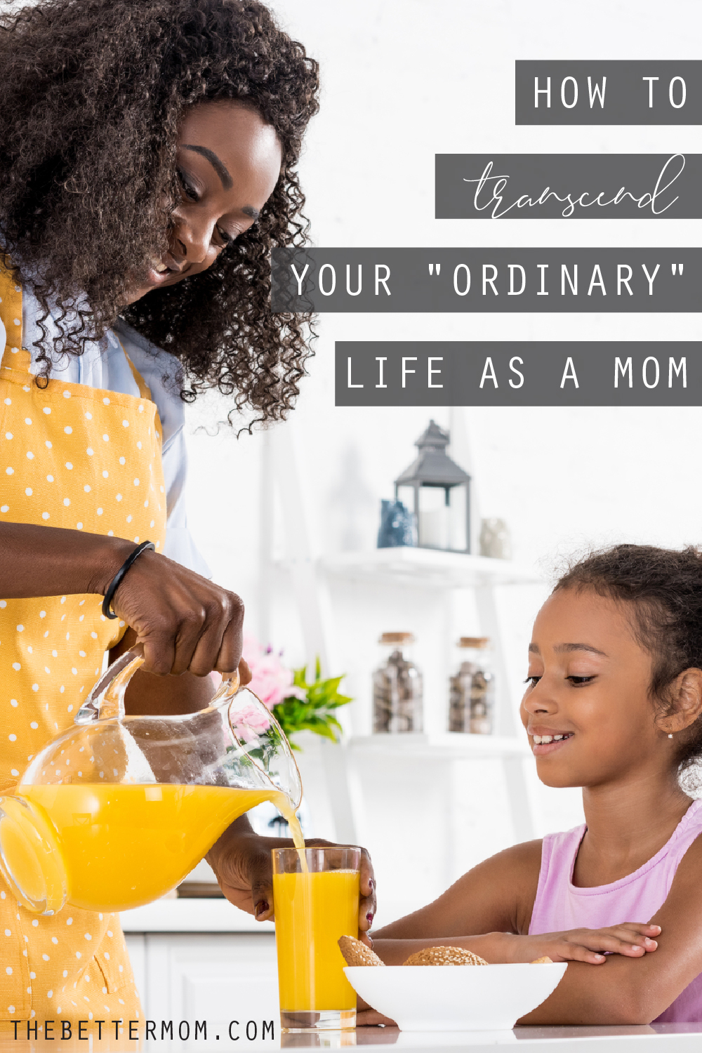 Are you ready to seize a heavenly vision about your day's ordinary and mundane? Here's how to embrace Bible truth that gives life and deep meaning to the work of your hands and your heart as a mom...