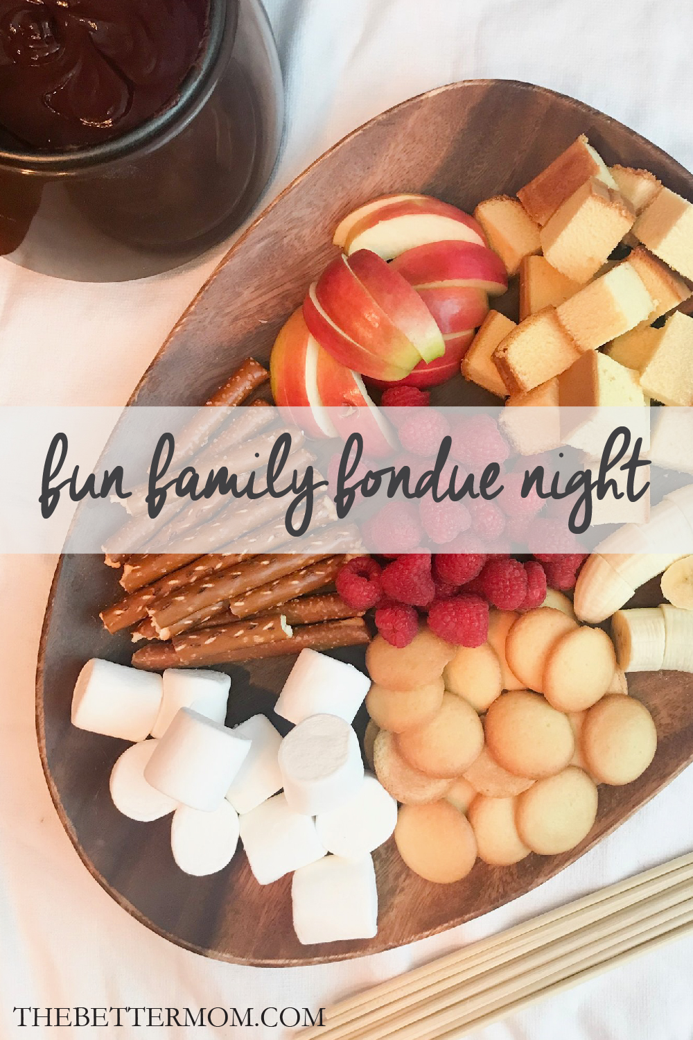 Are you looking for a fun tradition for the family?? How about a Fun Family Fondue Night?! We have all the details you need to have your own!!