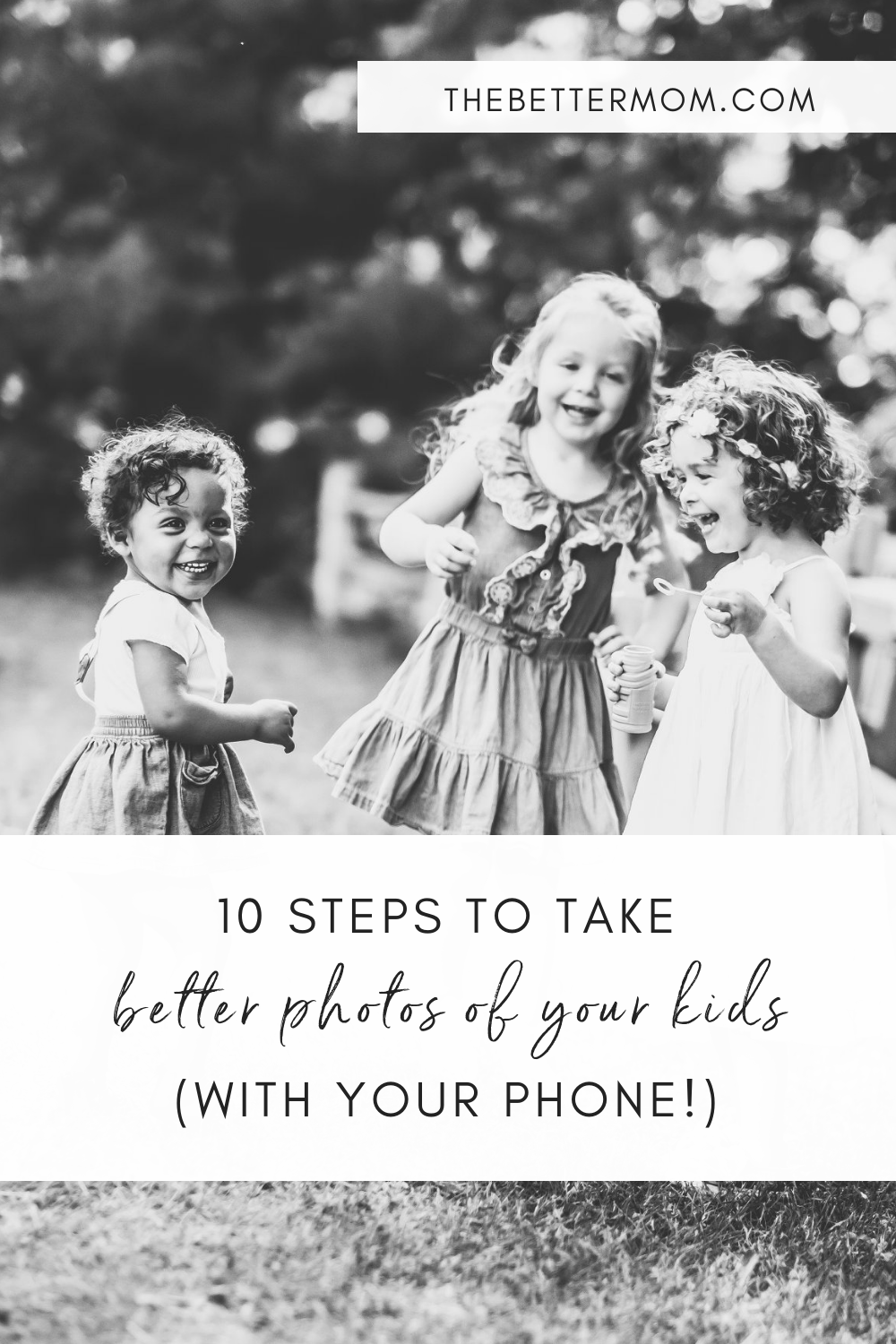 Do you want to learn how to take better photos of your kids? We do too! So today, we're learning some new skills from a professional photographer about how to capture special moments using only our smartphone!
