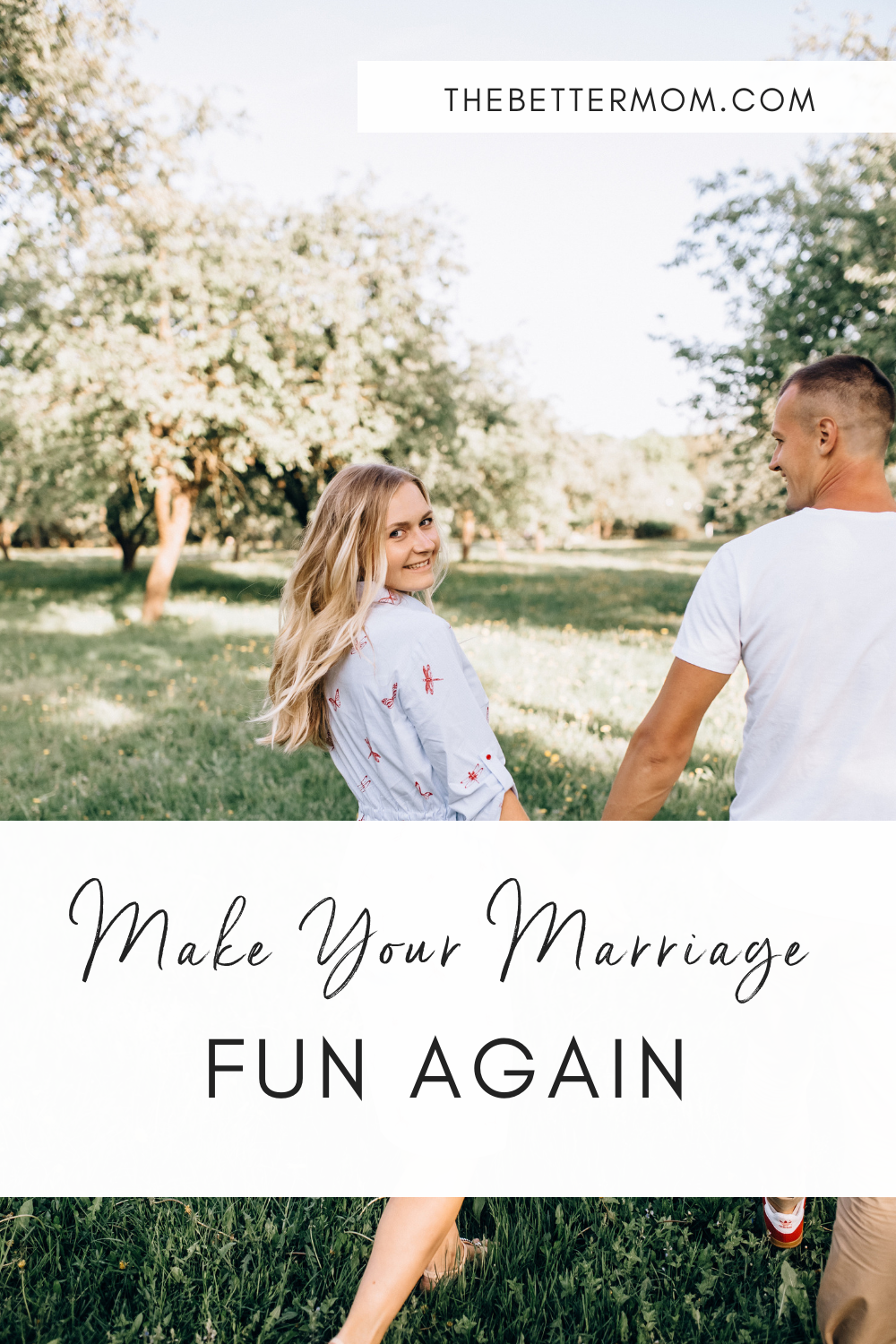 Do you enjoy your marriage? Sometimes this very holy, very good work we are doing with our spouse can lack... fun! Bring back the joy of just being together with these great ideas for connection.