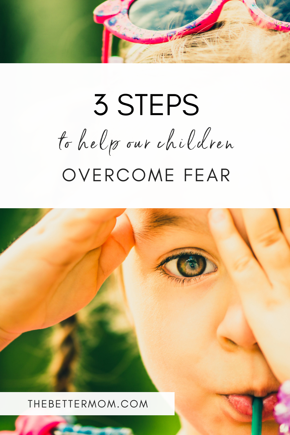 We know God does not want us, or our children, to suffer from fear, whether real or imagined. But for many of us, the struggle is still very much a part of our lives. We need these promises from Scripture and practical tools to help!