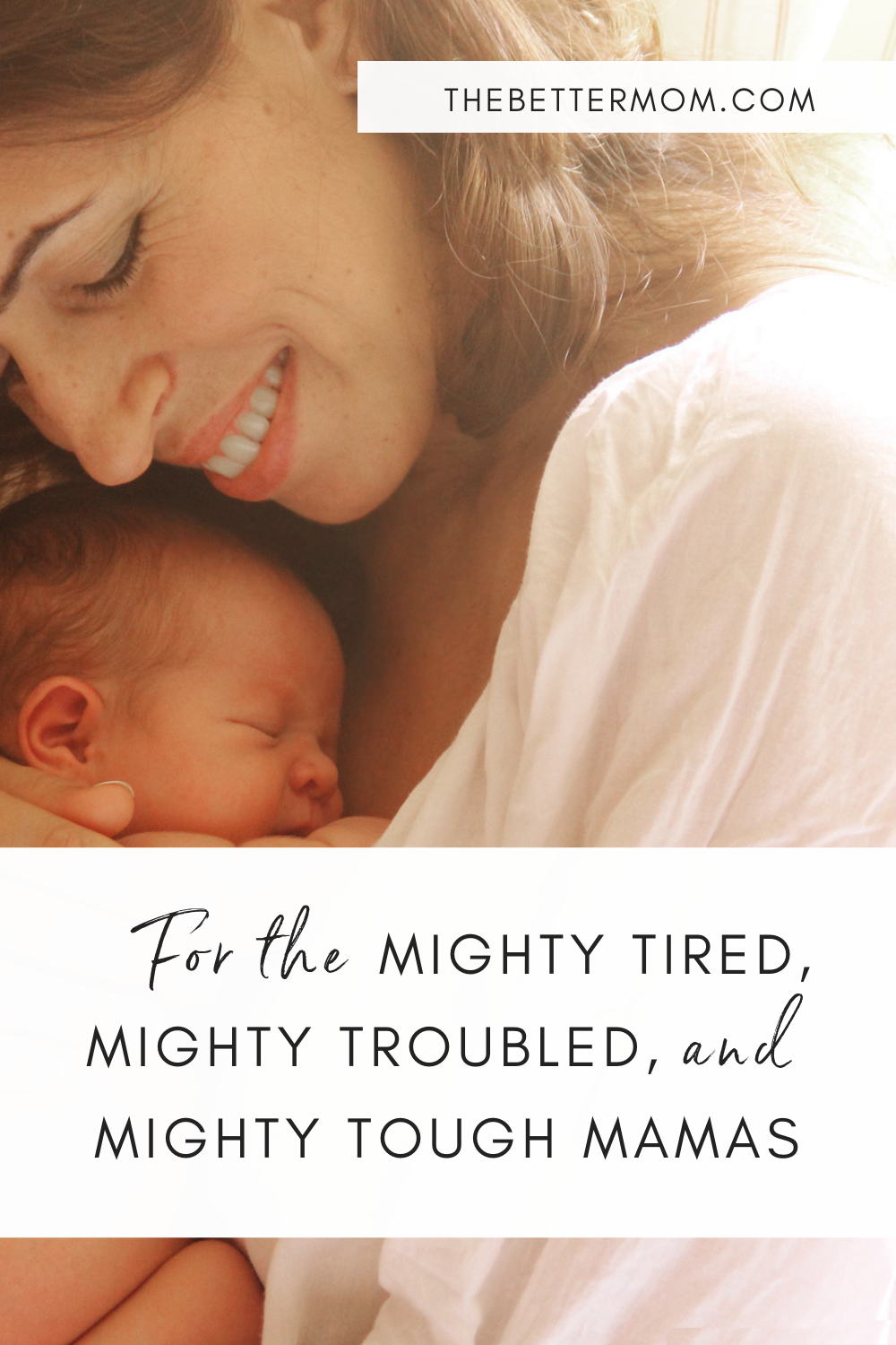 Do you experience frequent seasons of fatigue and weariness? As moms, it's unavoidable.  But while we may be mighty troubled with the hard things and mighty tired from the small hands that hold ours, we serve a mighty God who equips us to tackle this thing called motherhood. Let's seek Him together!