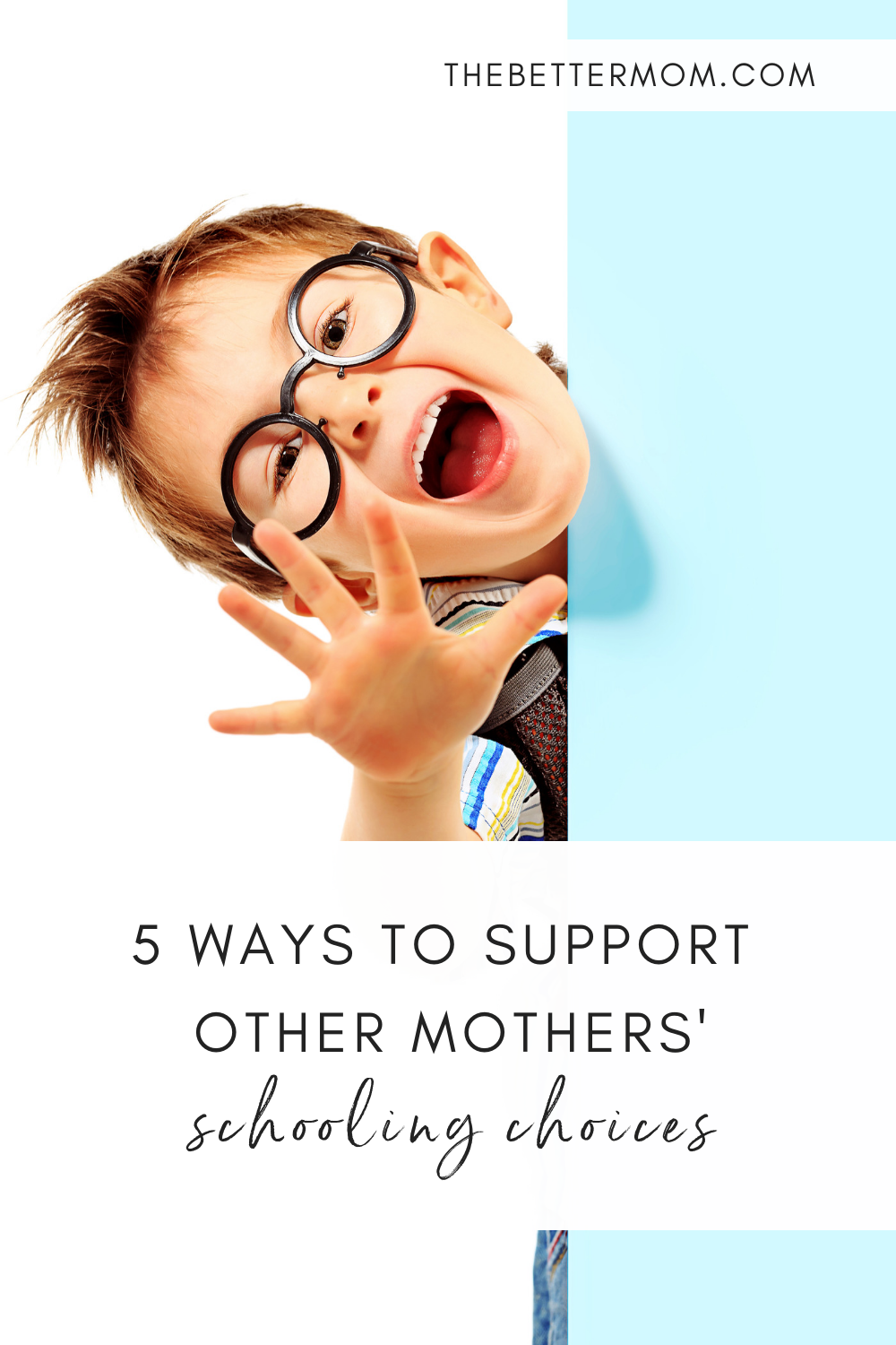 5 Ways to Support Other Mothers' Schooling Choices