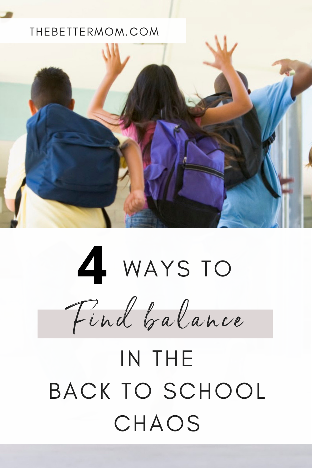 How's the new school routine going, mamas? If you're feeling a bit overwhelmed, exhausted or just not sure how to do it all, you need a plan! Read on for our best strategies to get control of the chaos.