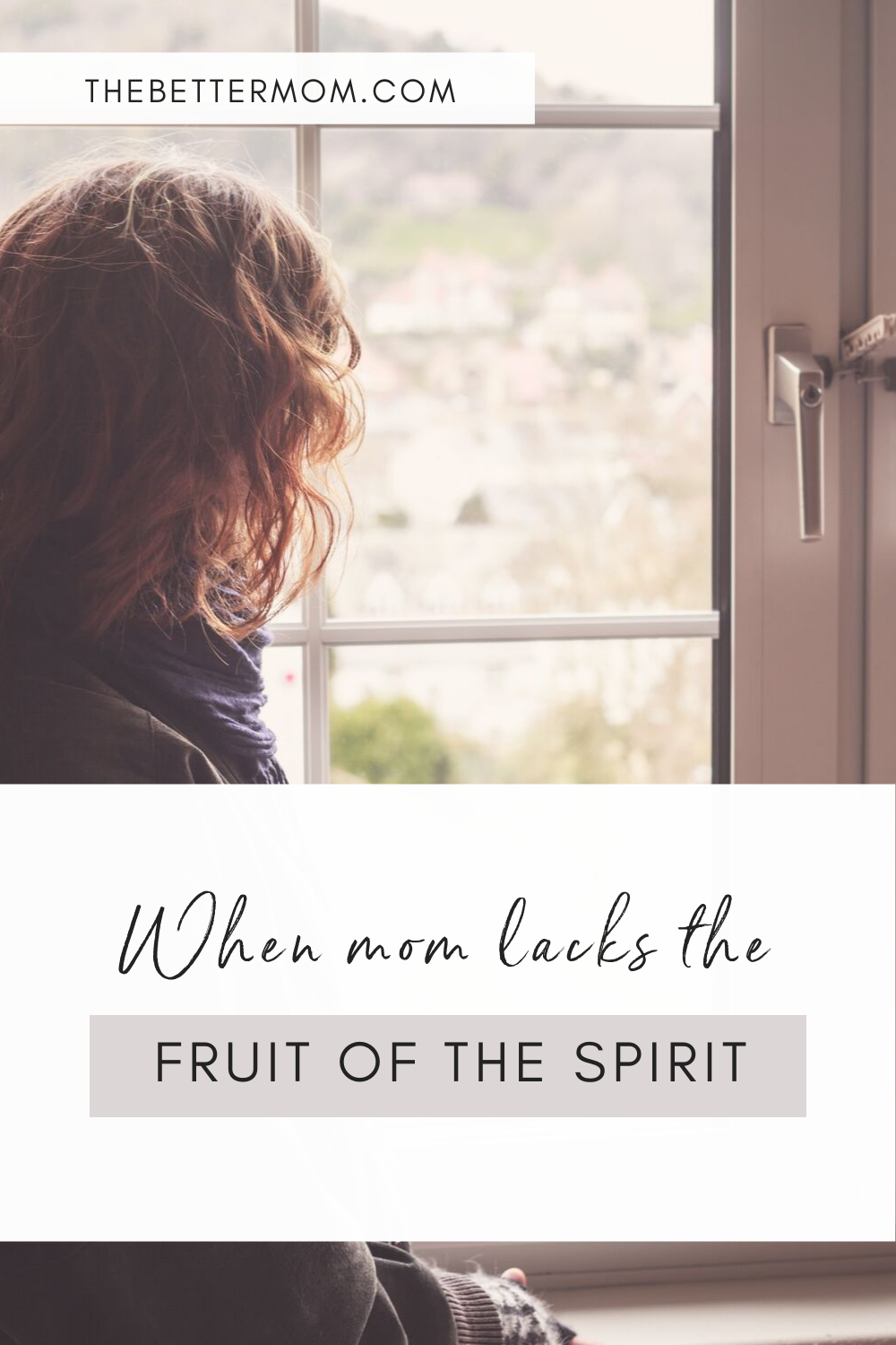 Do you wonder what you have to offer your family? Do you feel deep conviction in the way anger keeps lashing out in your days but don't know how to begin to change? This message is for you. This Hope is for the mom who doesn't see any fruit in her life. Come and hear the good news.
