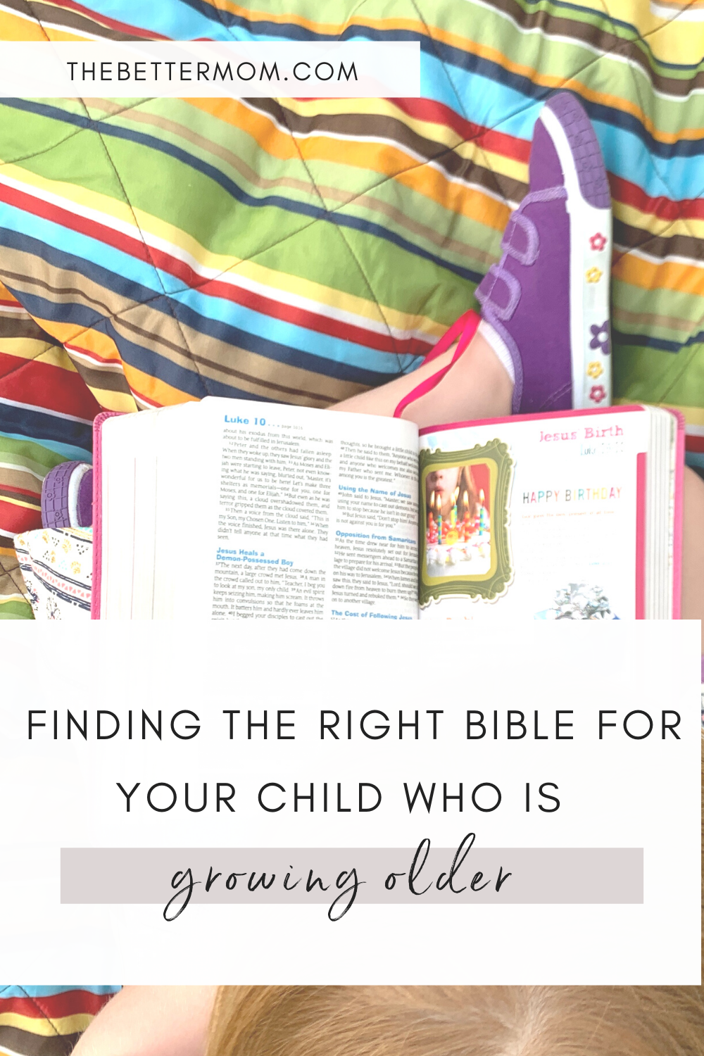 Calling all parents of elementary-aged and tweens!   Are you struggling to find a Bible for your growing child? You know, not only one they can use in church and read Scripture at home, but to actually help them understand WHAT they are reading about? I am so excited to share the Hand's On Bible with you! It is the perfect Bible for kids as they grow!