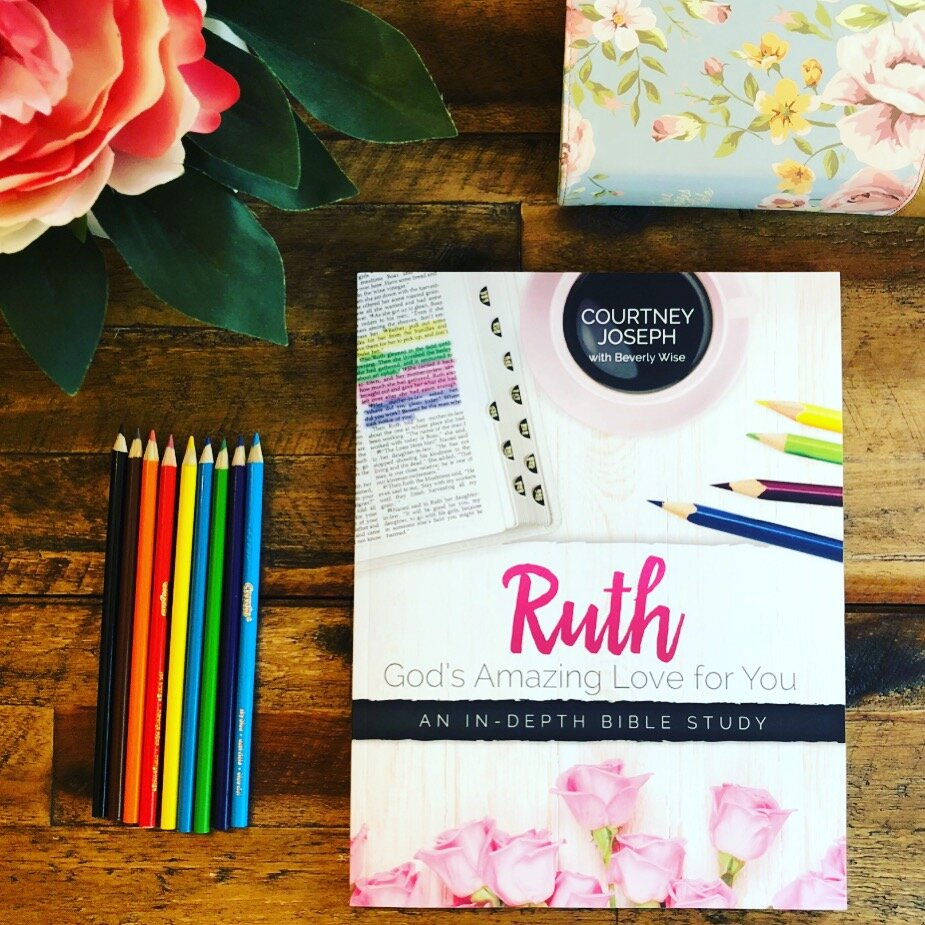 The Book of Ruth Bible Study by Courtney Joseph