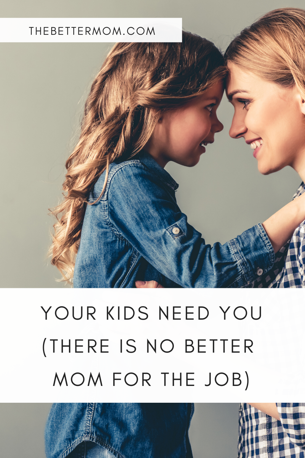 It doesn't get easier. From diapers to diplomas we all think the mom next door is doing this motherhood thing way better than we are. Yes, motherhood is unpredictable but soul-changing if we surrender to the work God wants to do in us.