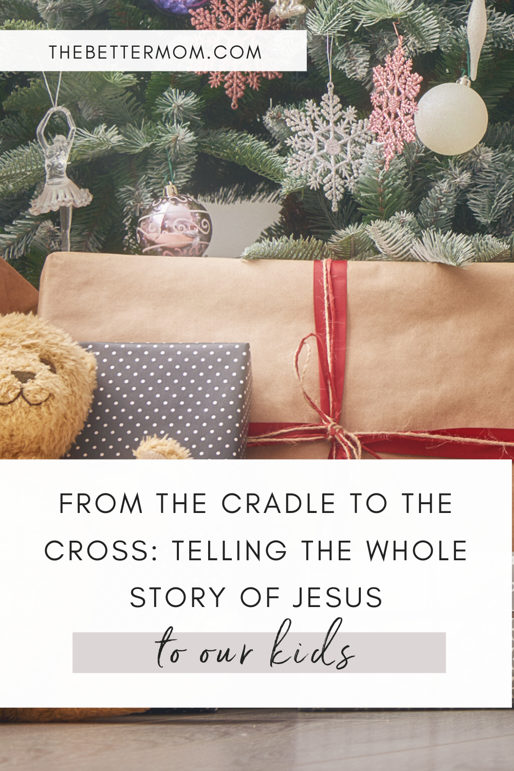 Sharing the story of the birth of Jesus with our children this time of year is always so meaningful but how can we take it a step further and tell the whole story? We are sharing a few creative ways to tell the entire story of the gospel to your loved ones this Christmas...