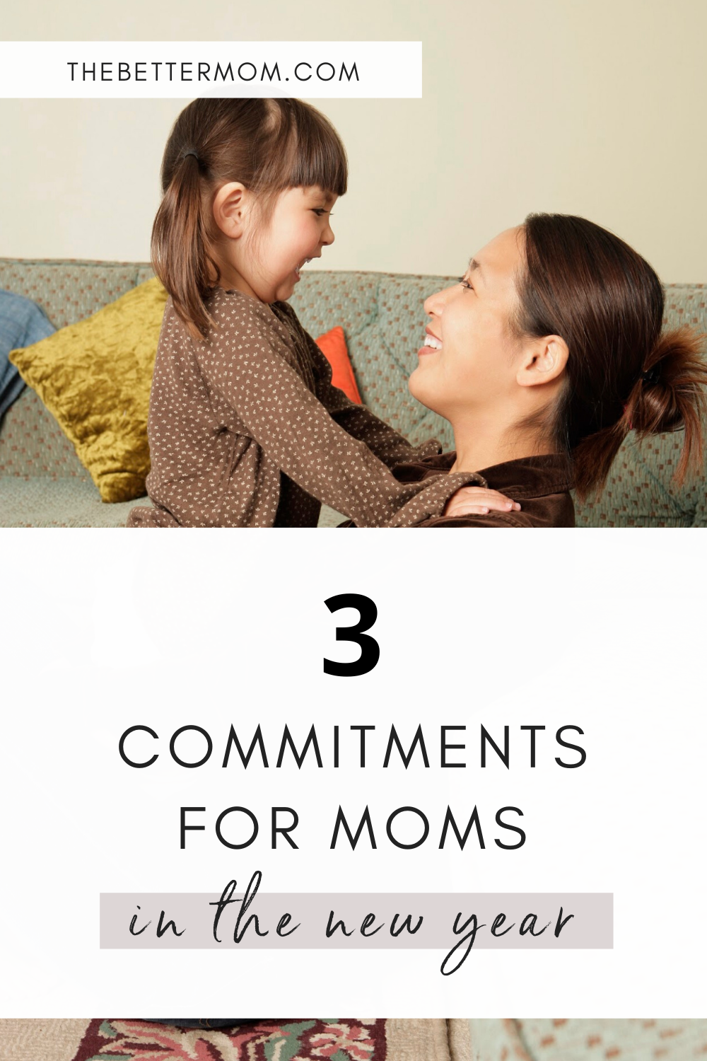 As we enter a New Year and make new goals let's not forget the important calling of Motherhood! What commitments will you make as a mom to serve your kids well? If you find yourself seeking grace and striving for growth as a mom in 2020, here are three commitments that we would love for you to work towards with us...