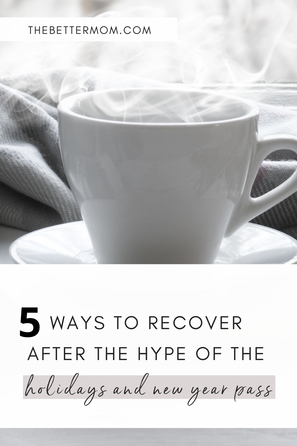 The holidays are over and the New Year hype is winding down, so now what? If you are feeling anything like we are, it is time for a break...time to rest. There is no better season or time to learn how to recover. Here are a few ideas we have to help you get started!