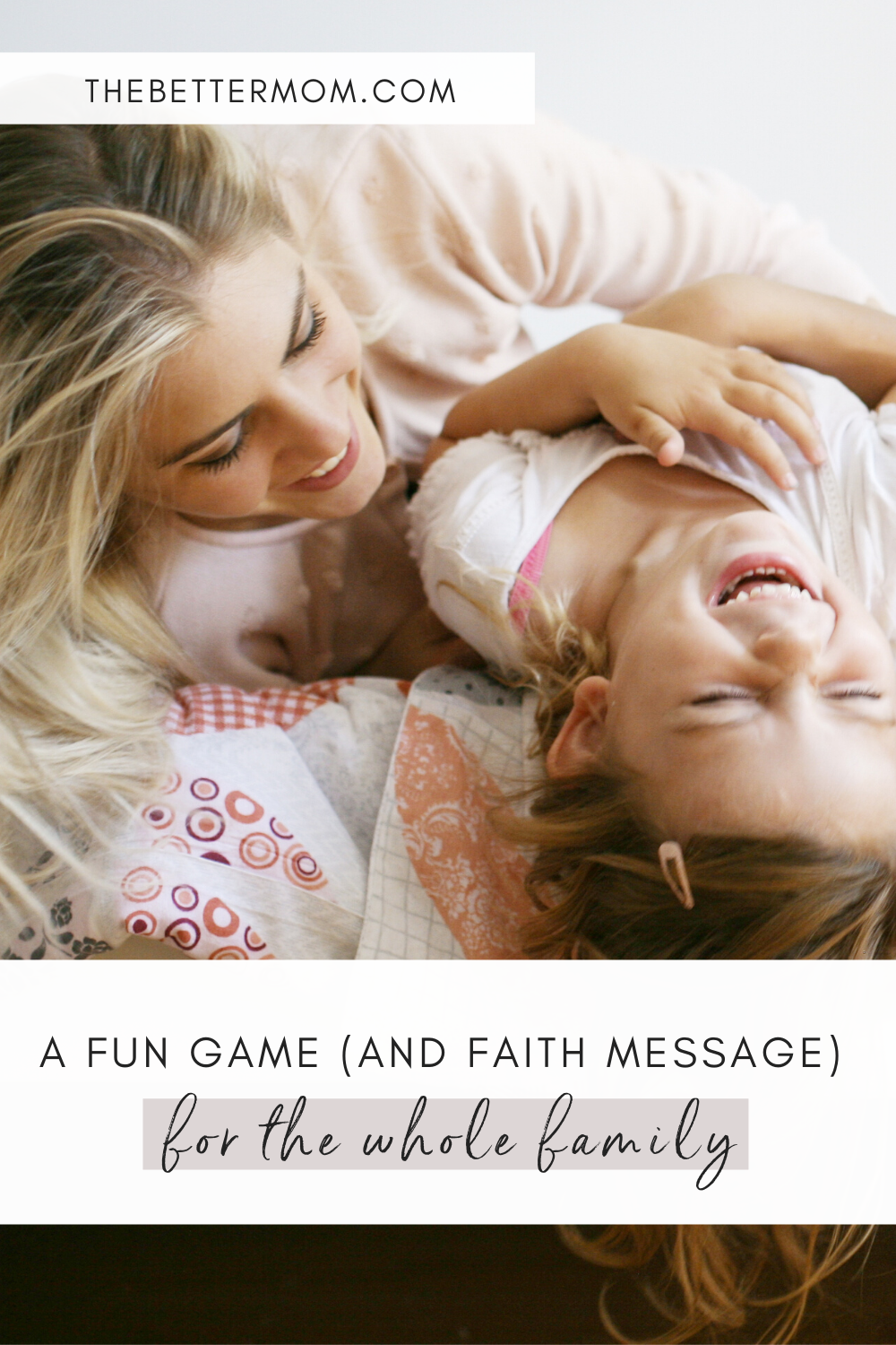 Are you looking for a fun game to play with the whole family? Spotlight is the perfect opportunity to not only have some fun, but teach your children about a deeper God truth they can carry with them for life!