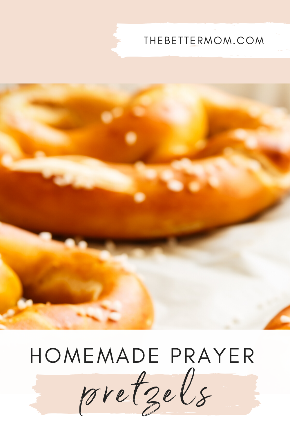 Are you looking for a delightful and impactful way to teach your children to pray? The process of making pretzels was once used to teach kids about prayer during Lent and we want to share that tradition with you today!