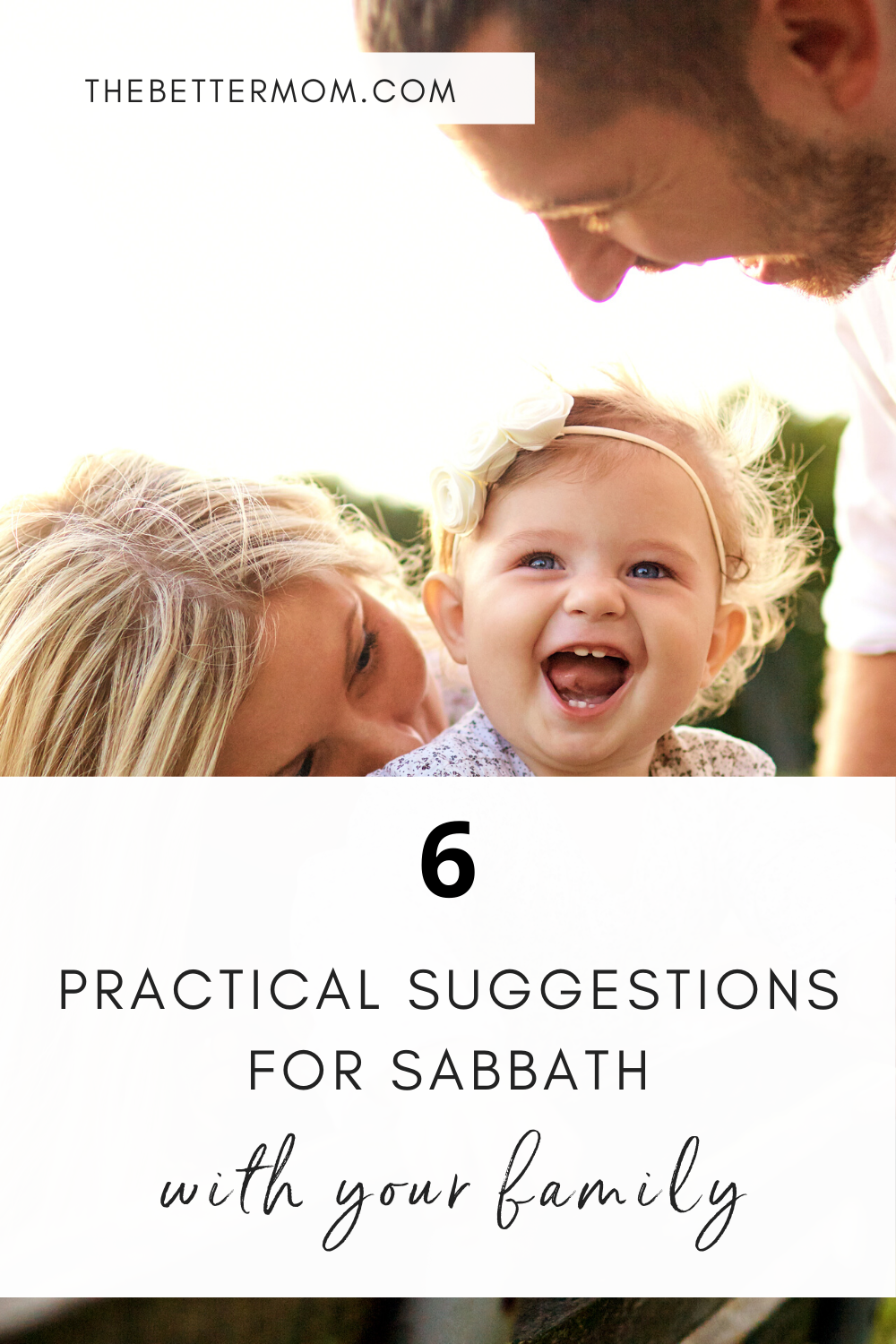 Sabbath is a simple command, but not an easy one. But, there are plenty of ways you and your family can observe Sabbath together! It may look different for everyone, but this practice can be fun, refreshing, and God-honoring.