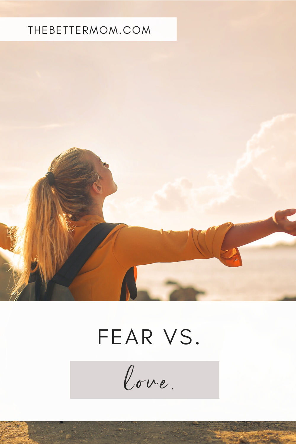 Fear suffocates us and tells us lies, while Love protects and frees us. Each day, we have a choice to choose love over fear. Join me in letting love guide us!