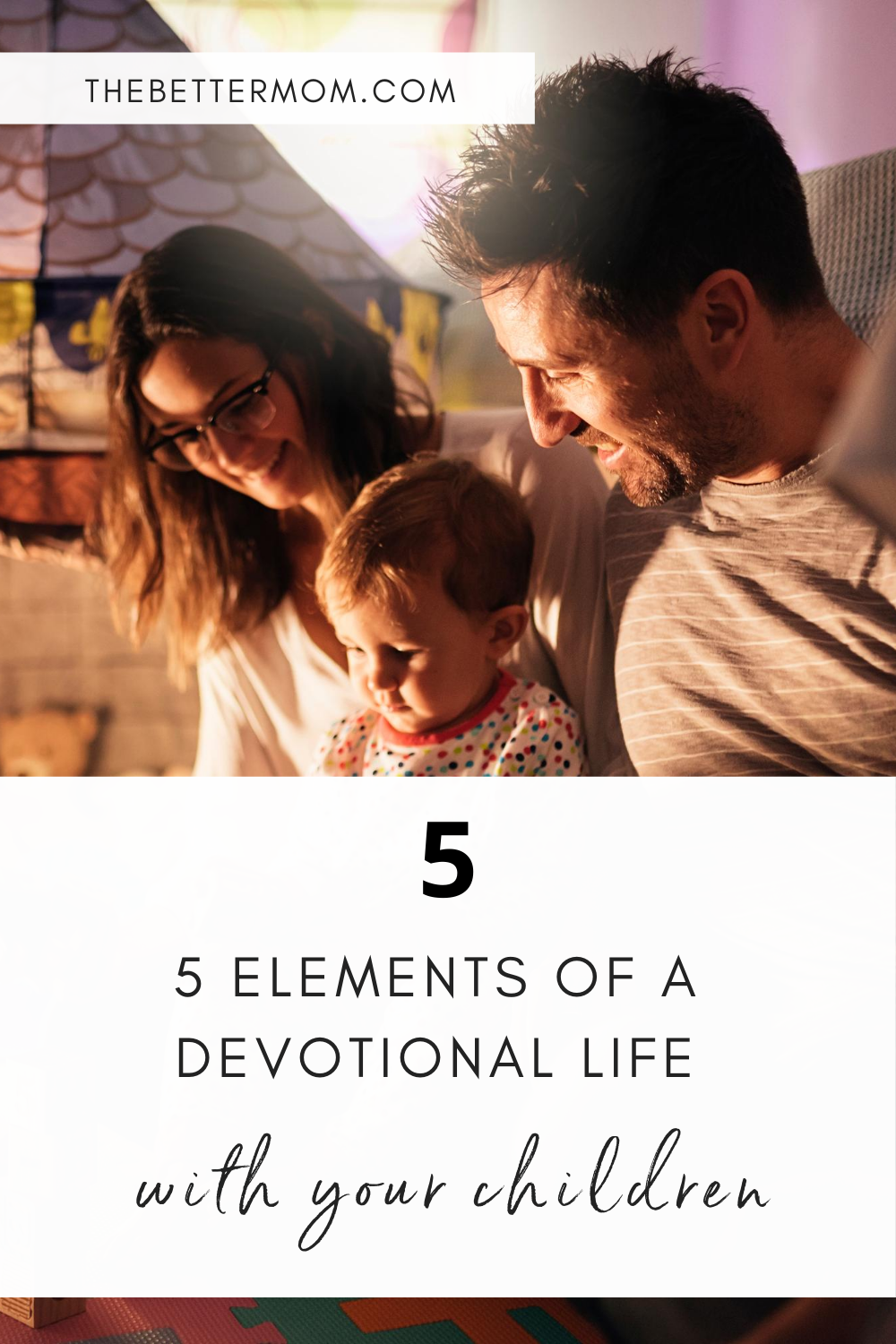 Devotion is not merely the acts but is found in your dedication to the Lord. Showing your children what it means to live a life of devotion is so important and it starts with living a devotional life ourselves!