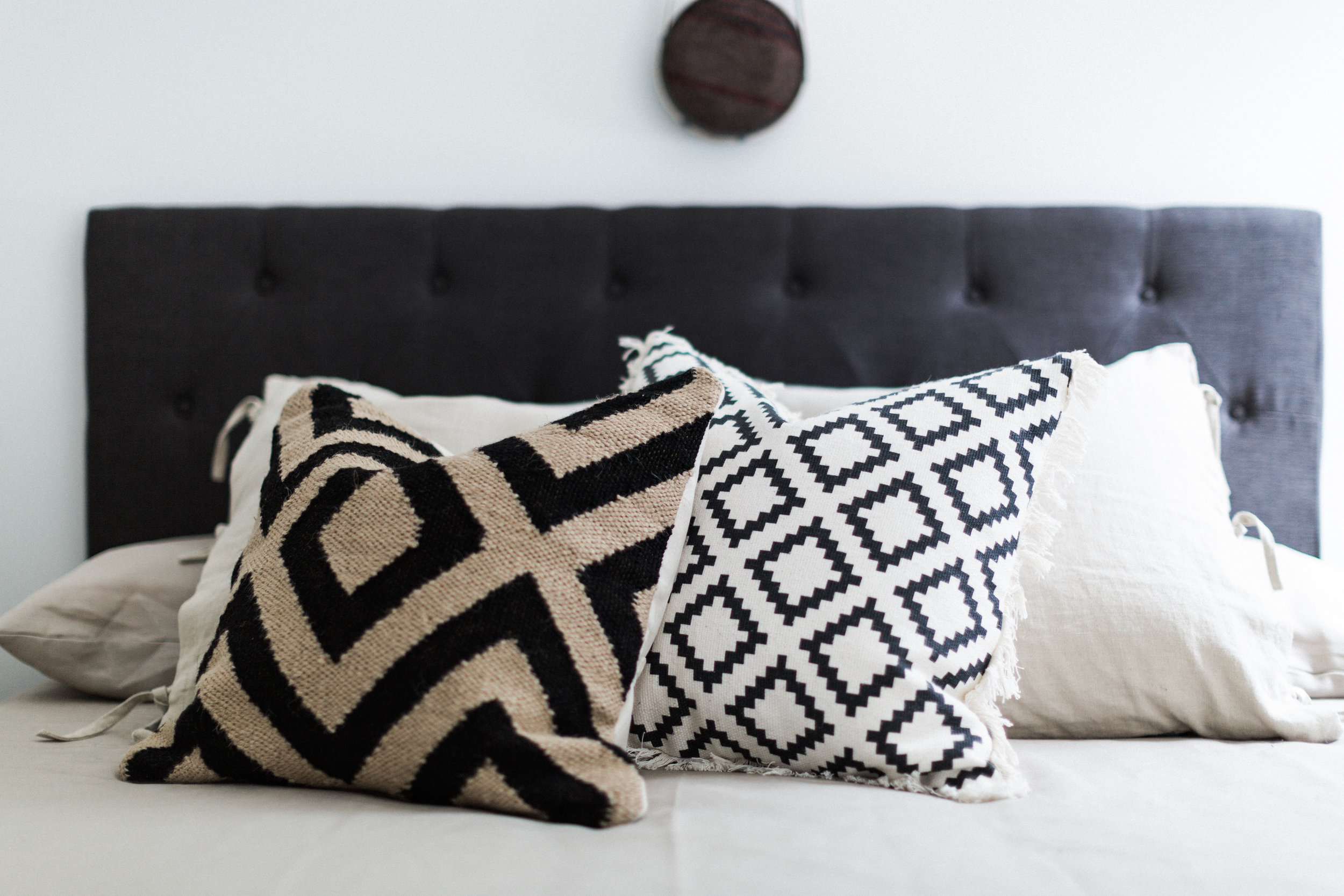Thank you, H&M Home, for always having amazing pillows. Industry tip: When you see something you love in home decor, snatch it up quick, because H&M sells out of popular items fast. And when they're gone, they're gone.