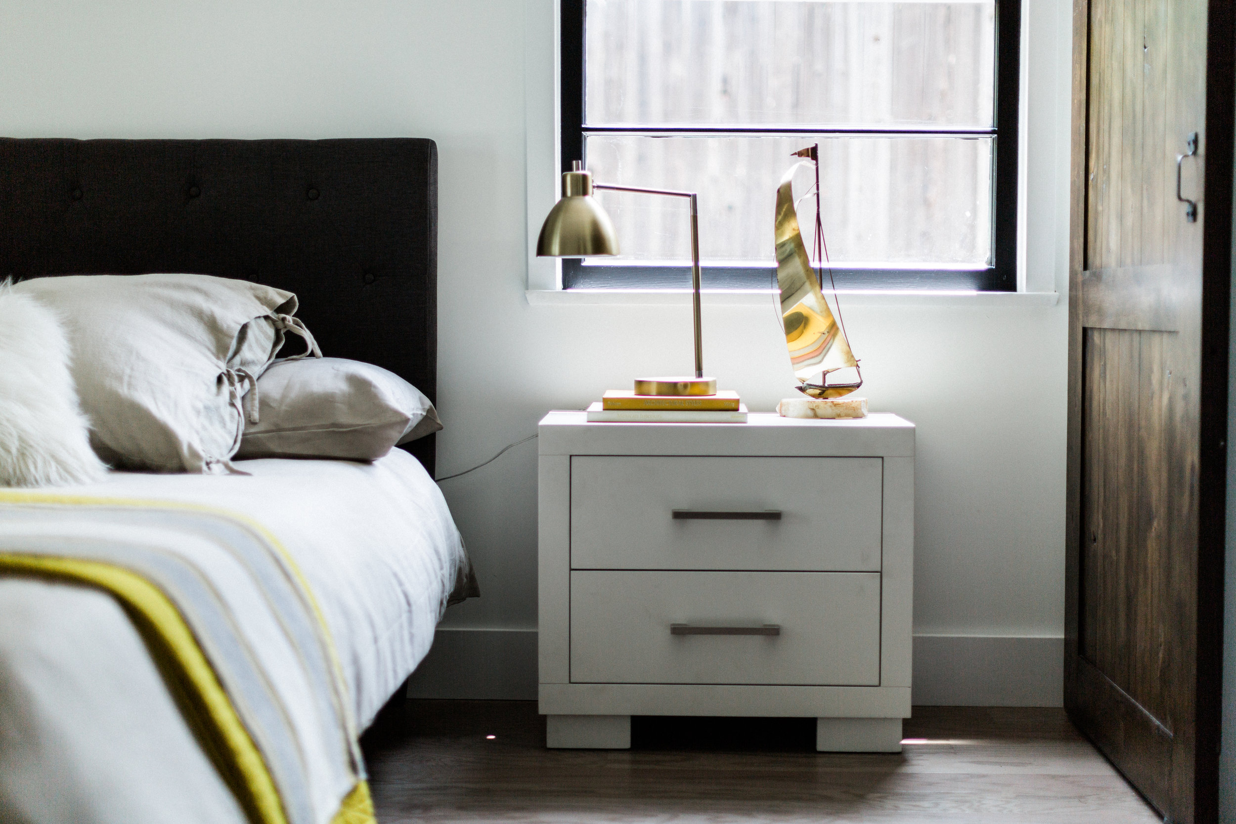 Ochre, gray and brass. Brass is back. in a big way. We don't see it going away anytime soon. And that's fine with us.