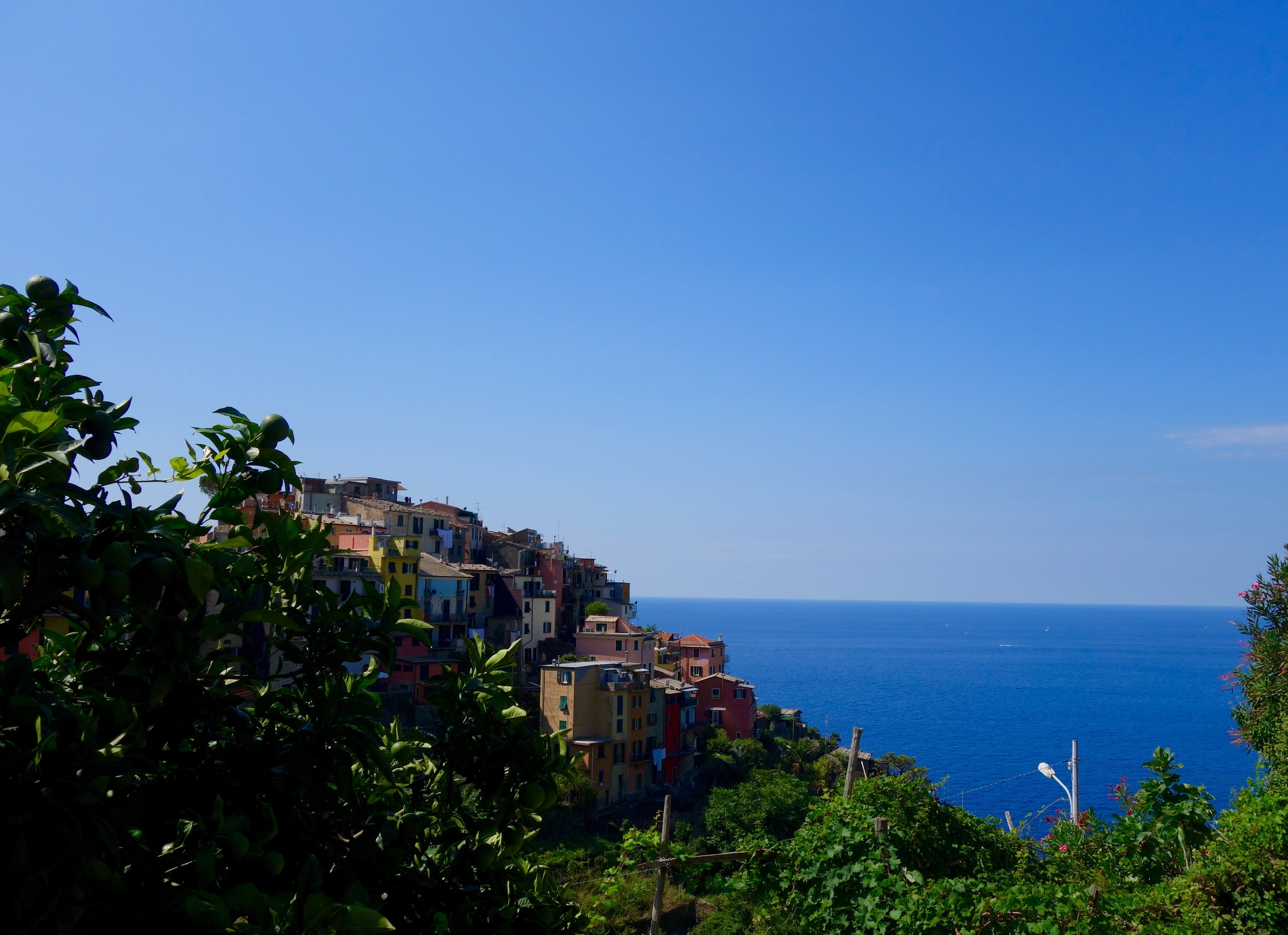 Corniglia is the third town, and has the cutest little houses!!