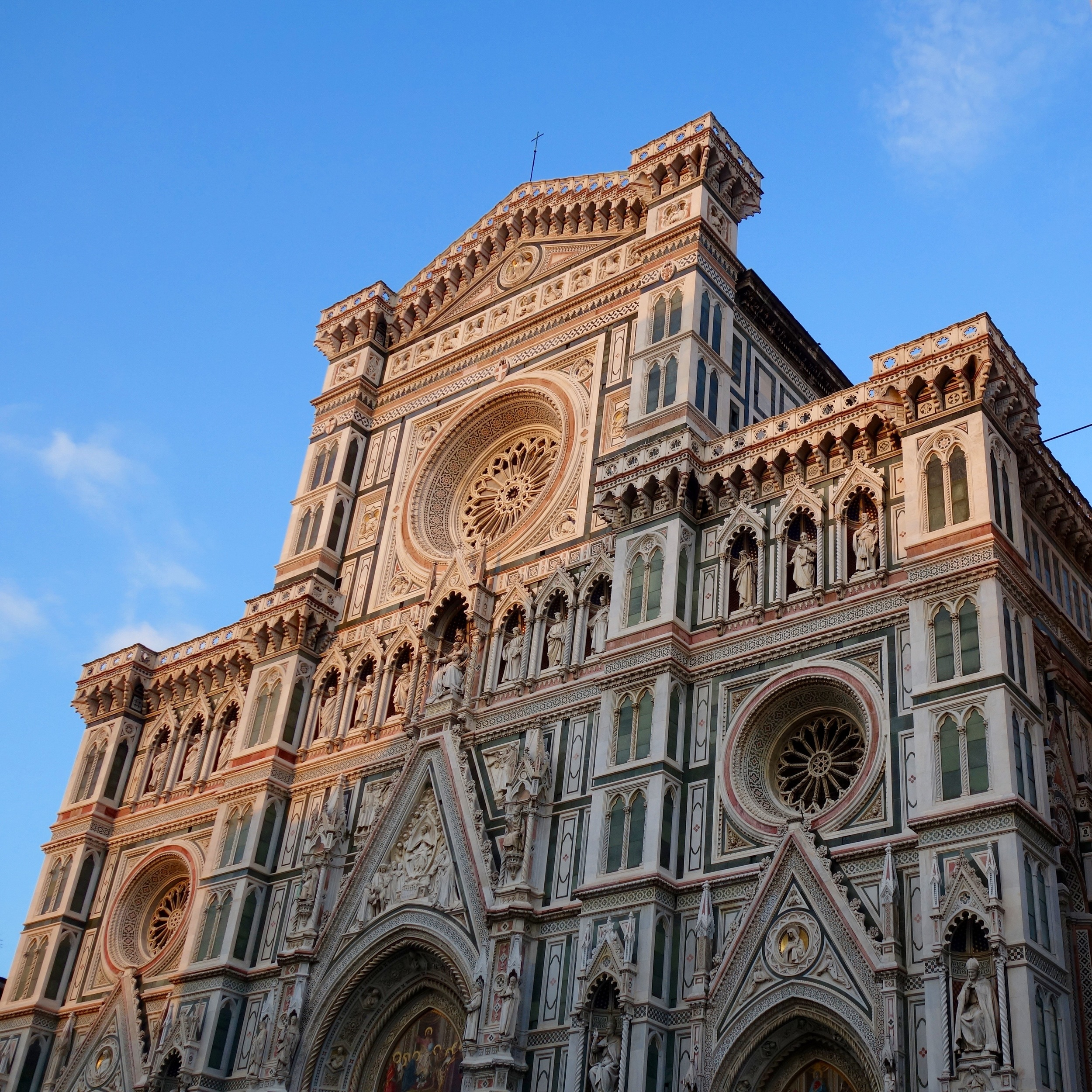 Santa Maria del Fiore at sunset