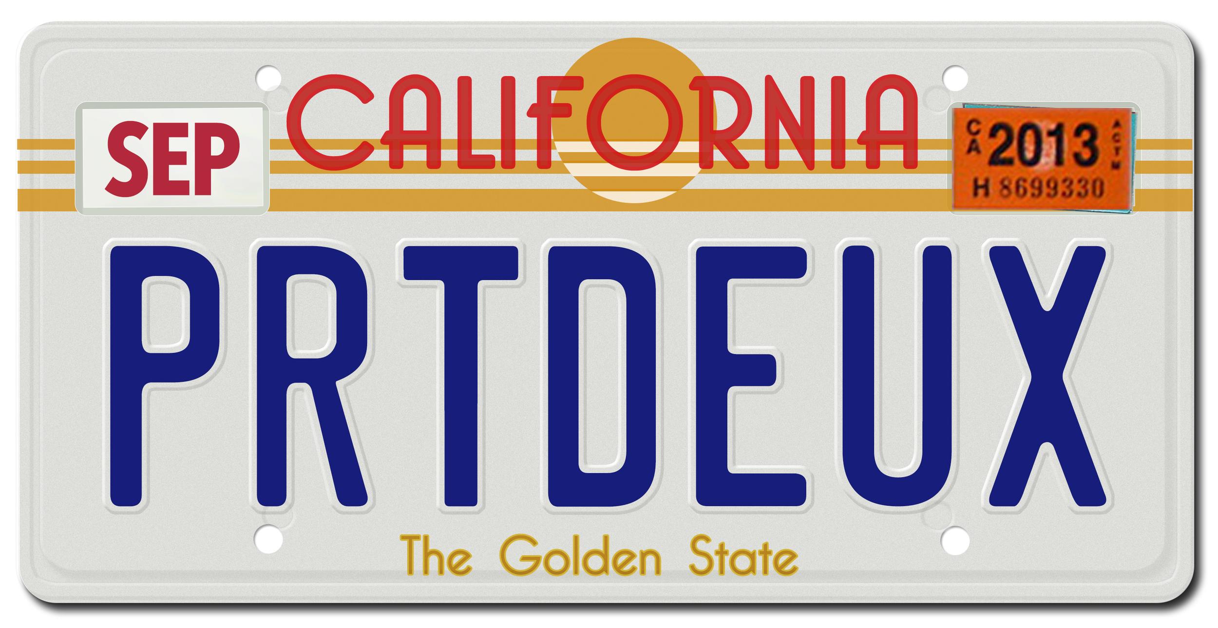 promotion: license plate logo
