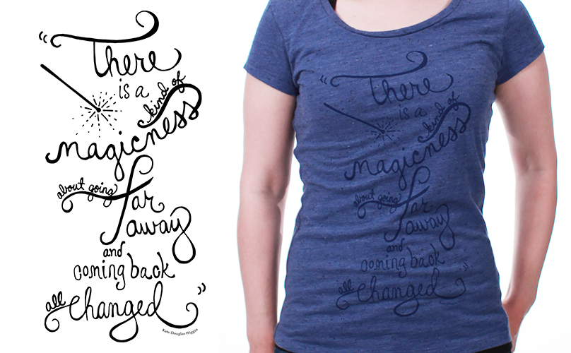 graphic tee hand-lettering: People to People Apparel  Company: People to People Ambassador Programs