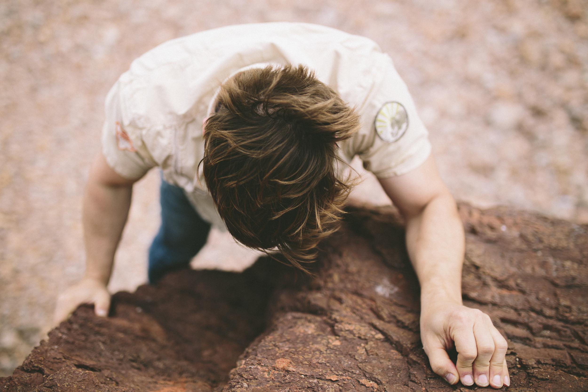 Brandon cliff climbing