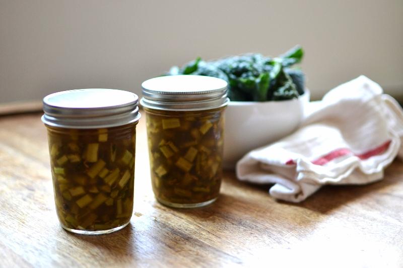 pickledkalestems