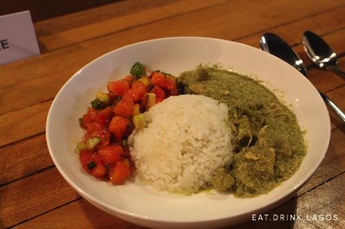 Scent Leaf Chicken Curry