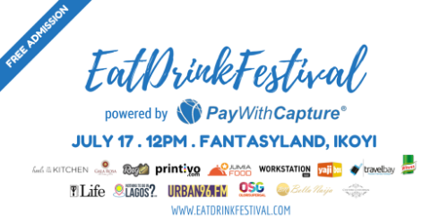 eatdrinklagos festival pay with capture