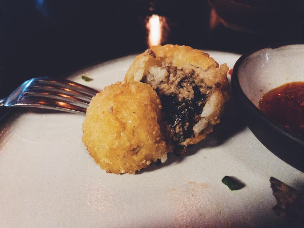 Ofada Rice Ball