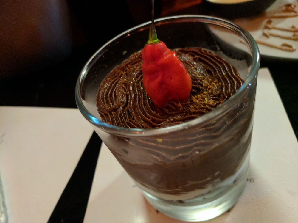 Chocolate Chilli Mousse
