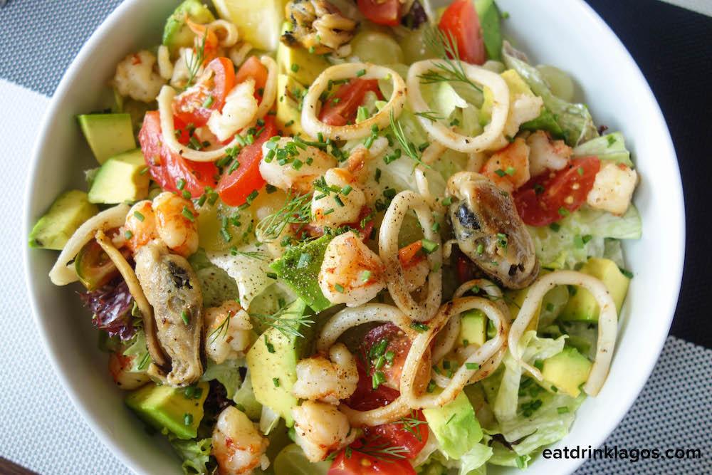 Prawn & Calamari Seafood Salad