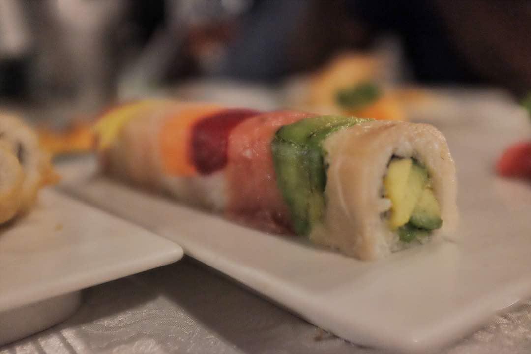 Rainbow Uramaki