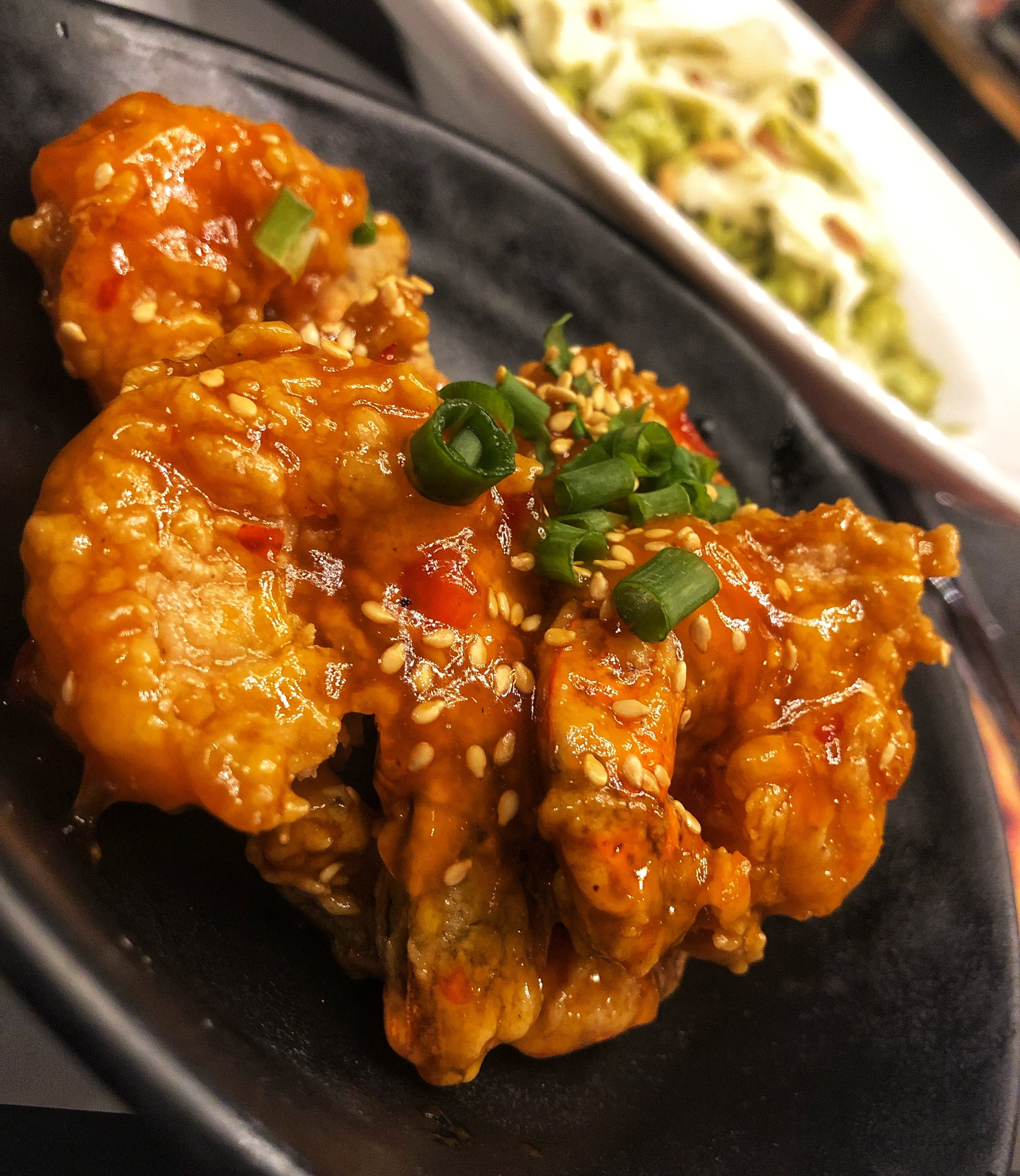 Casper & Gambini's Asian Spicy Shrimp